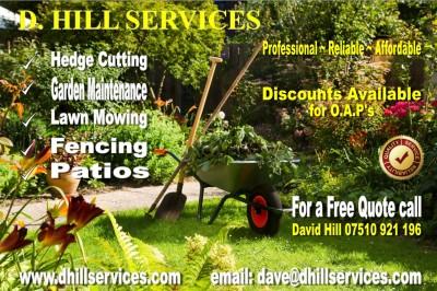 D. HILL SERVICES