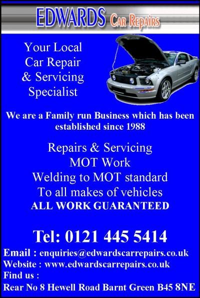 EDWARDS CAR REPAIRS