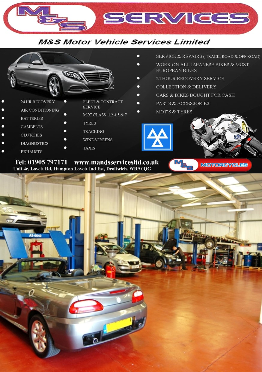 m and s motor services droitwich - Try Us 1st