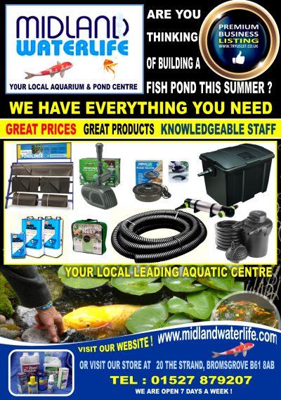 Midland Waterlife aquarium and pond centre Bromsgrove