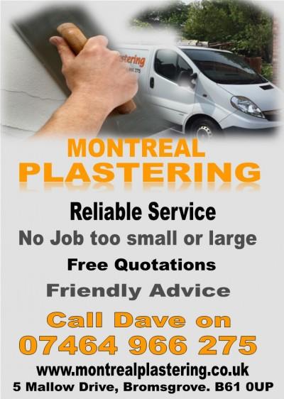 Montreal Plastering Bromsgrove