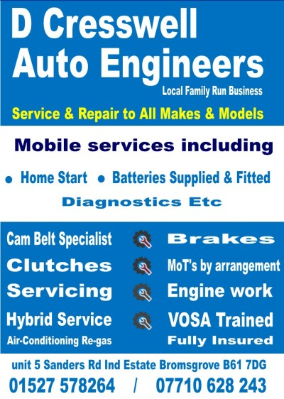 D Cresswell Auto Engineers
