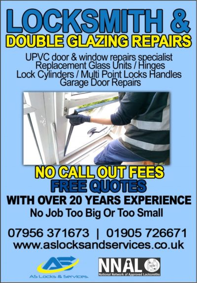 AS Locksmith and Double Glazing Repair Specialist