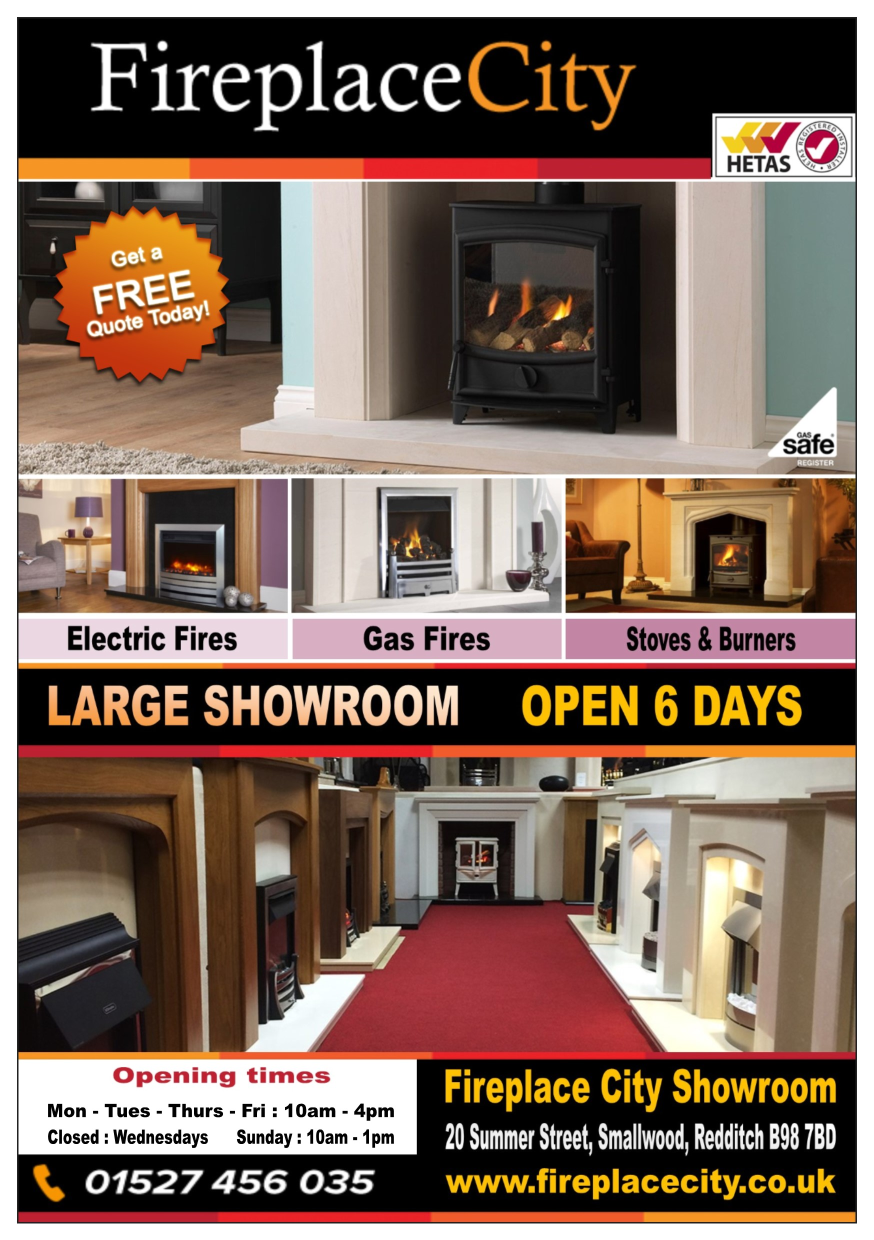 Fireplace City Redditch