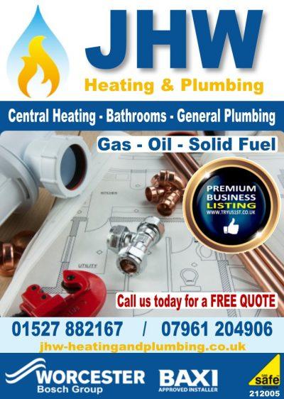JHW Heating & Plumbing