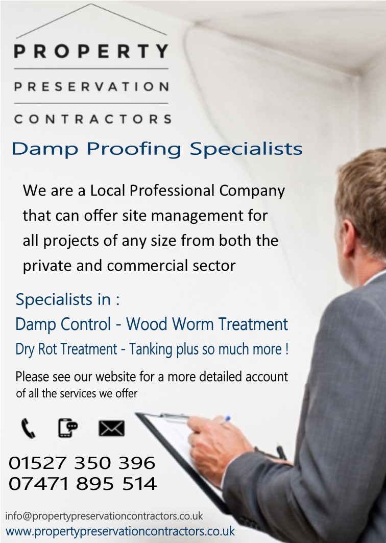 Property Preservation Contractors Damp Proofing Specialists