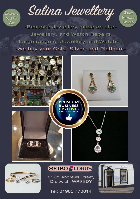 Salina Jewellery Droitwich