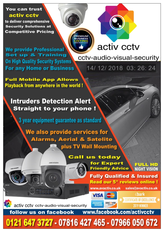 AV Activ Ltd activ cctv