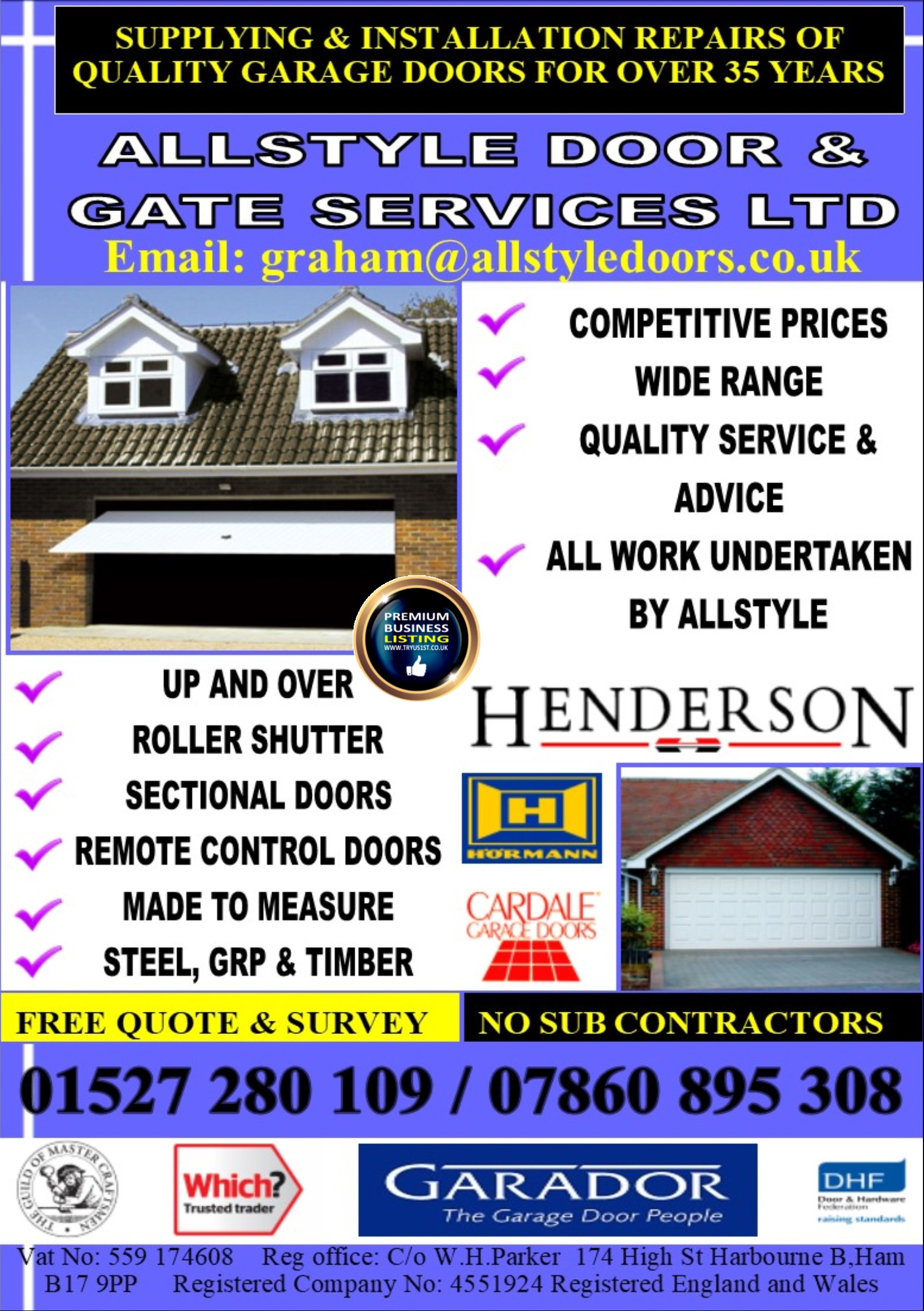 All Style Door & Gate Services