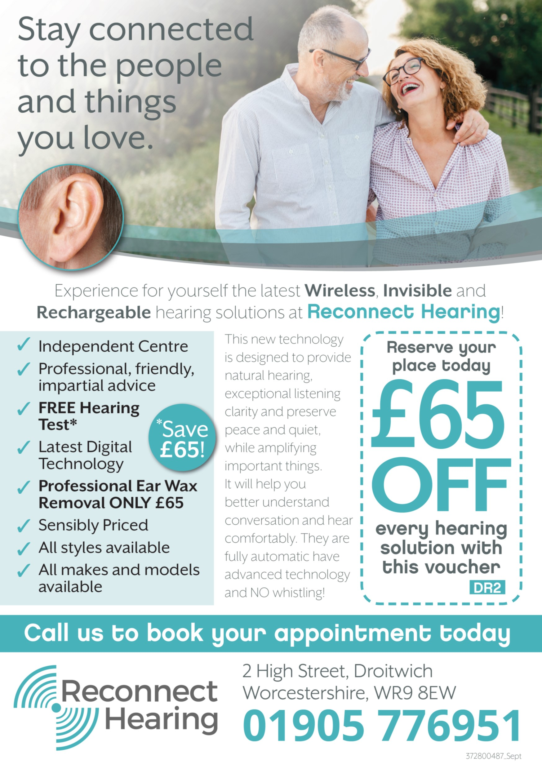 Reconnect Hearing Droitwich