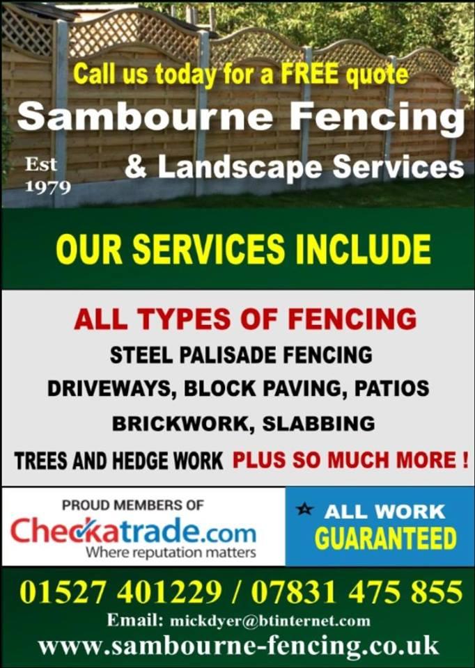 Sambourne Fencing & Landscape Services