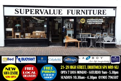 SUPERVALUE FURNITURE & BED CENTRE