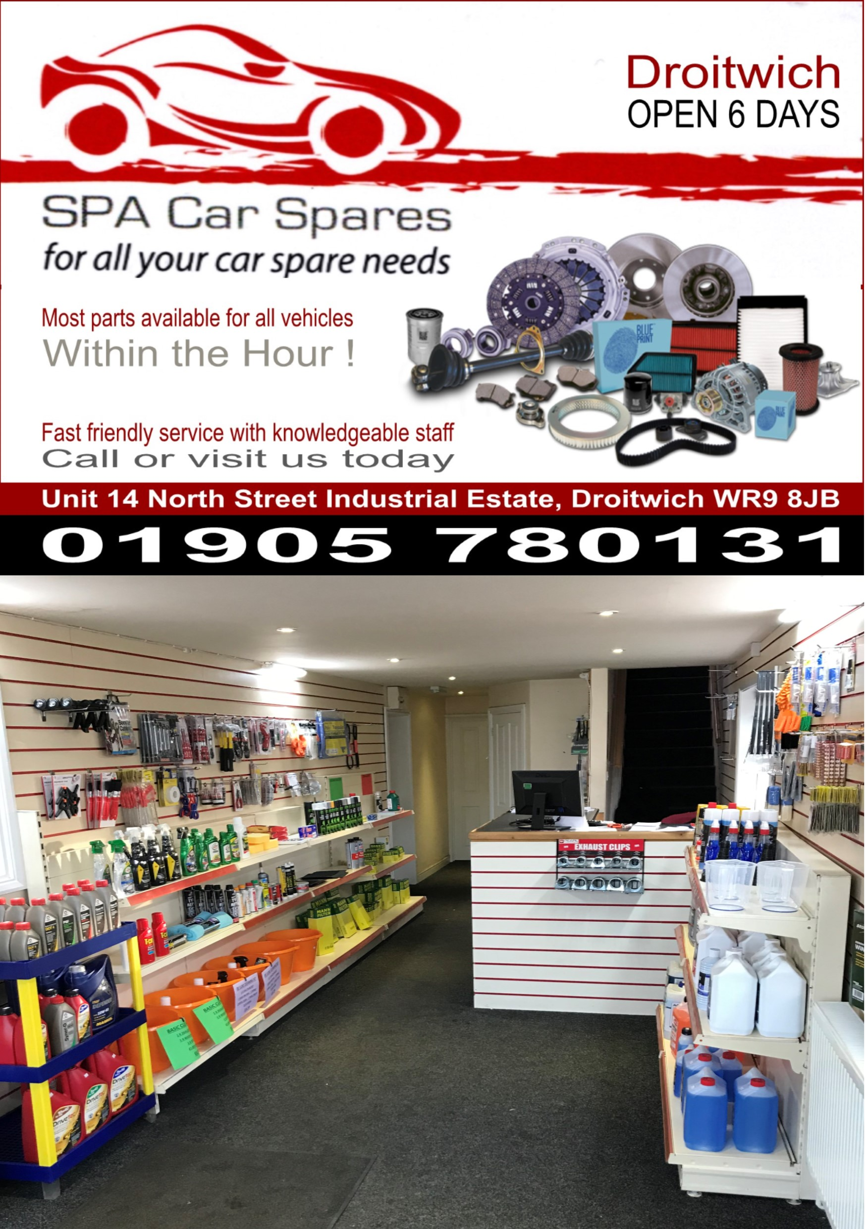SPA CAR SPARES DROITWICH