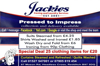 Jackies Ironing & Laundry Service