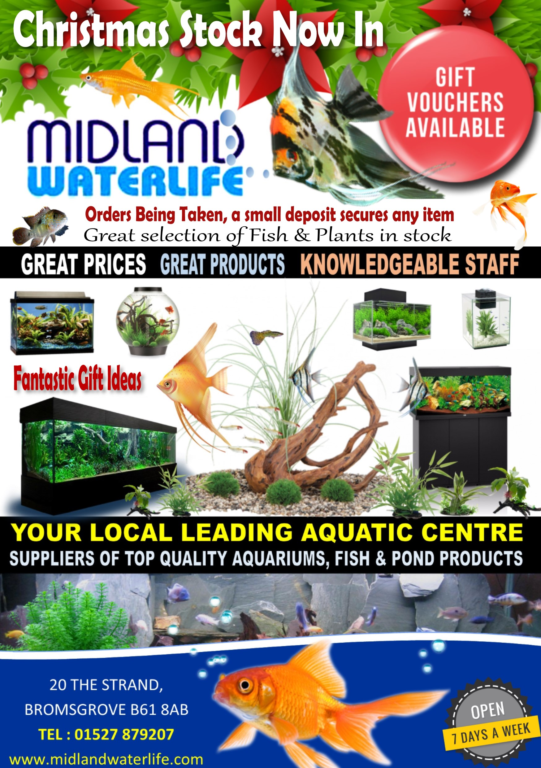 Midland Waterlife Aquatics Bromsgrove
