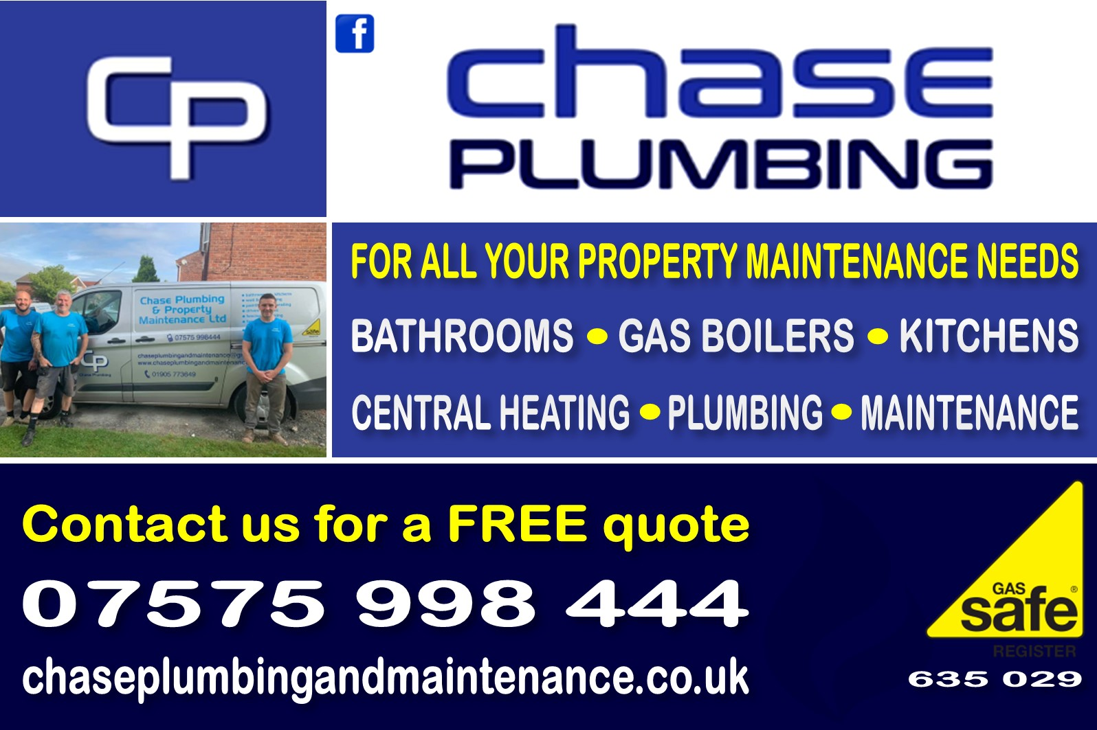 chase plumping and property maintenance