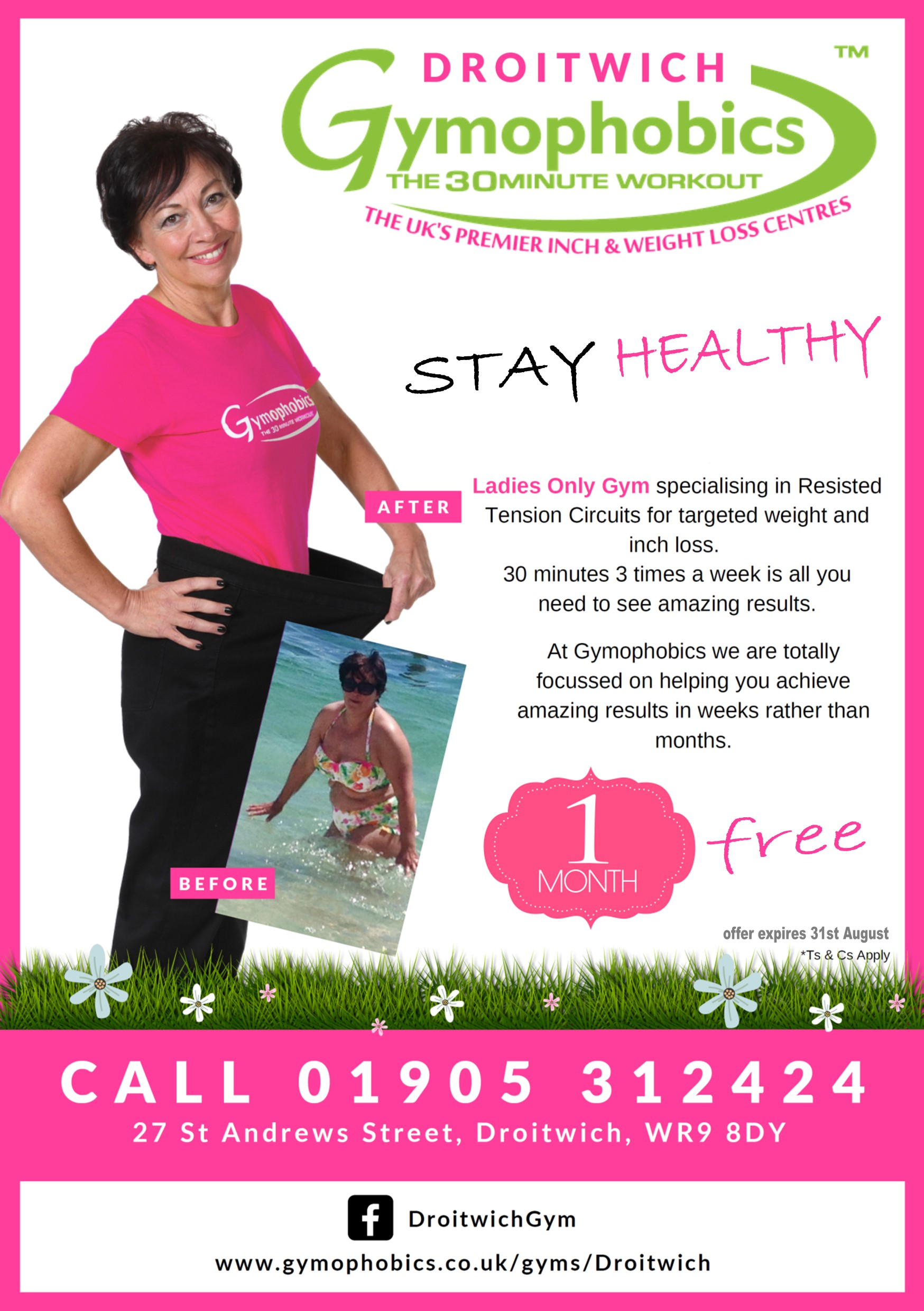 Gymophobics Droitwich - Ladies Gym - Try us 1st Local Traders