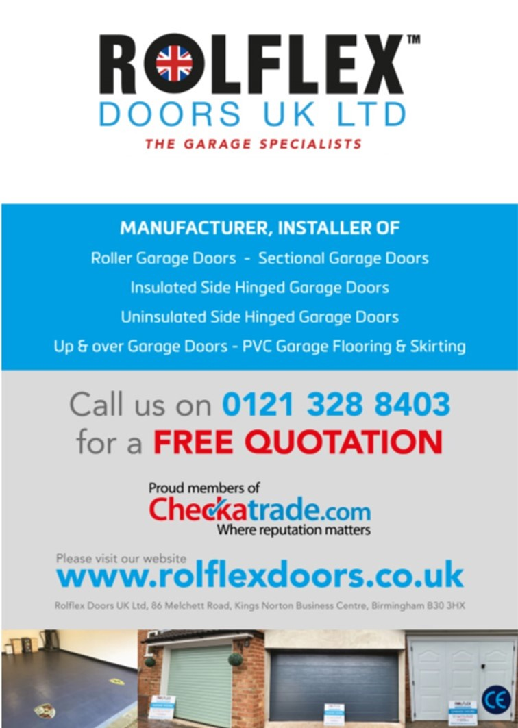 Rolflex Doors - Try us 1st Local Trader