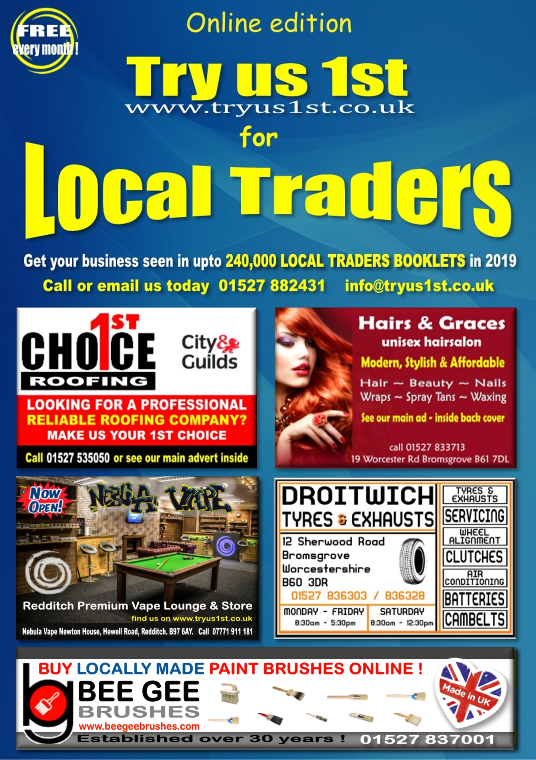 Try us 1st Local Traders