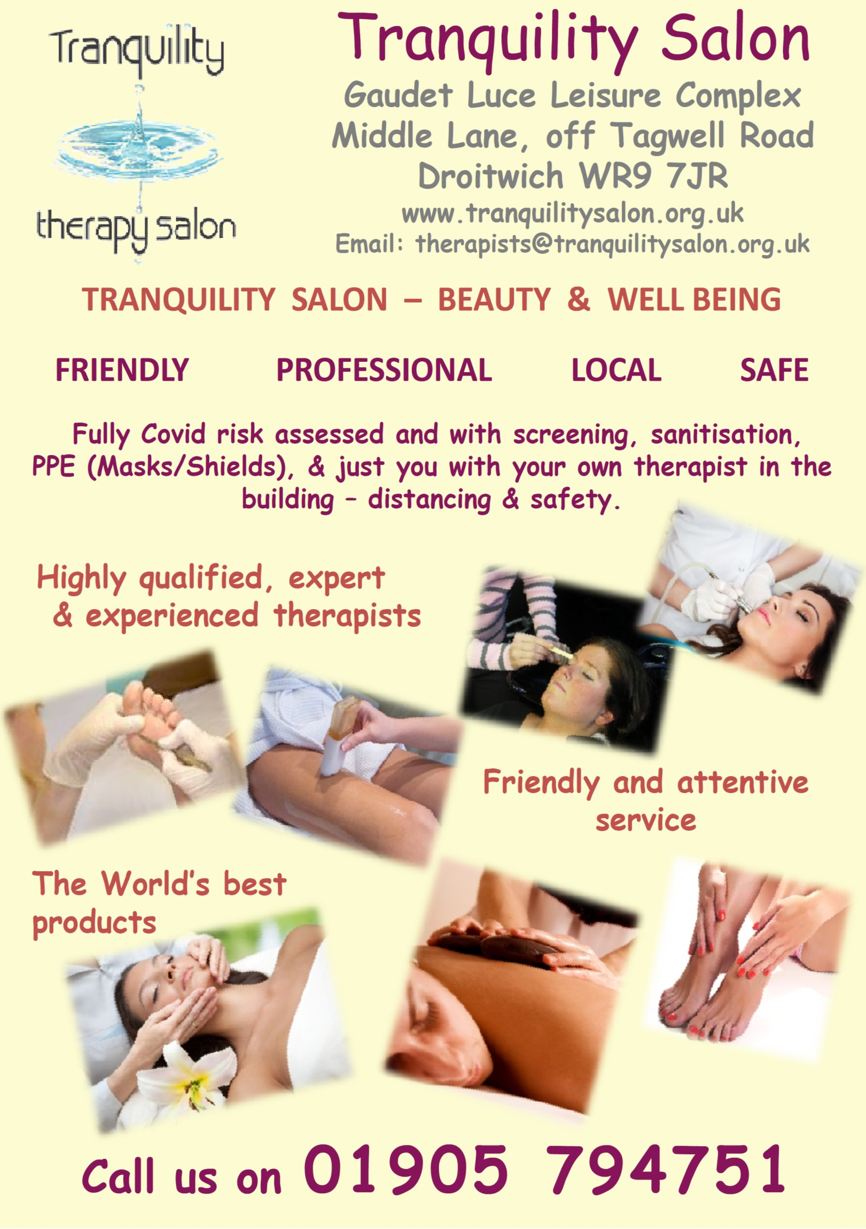 Tranquility Salon Droitwich