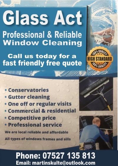 Glass Act window cleaning service