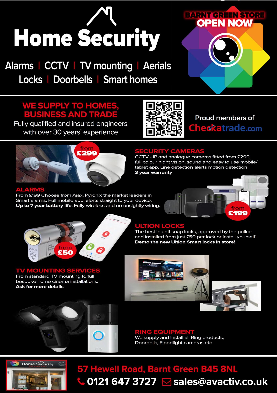 AV Activ Ltd Home Security