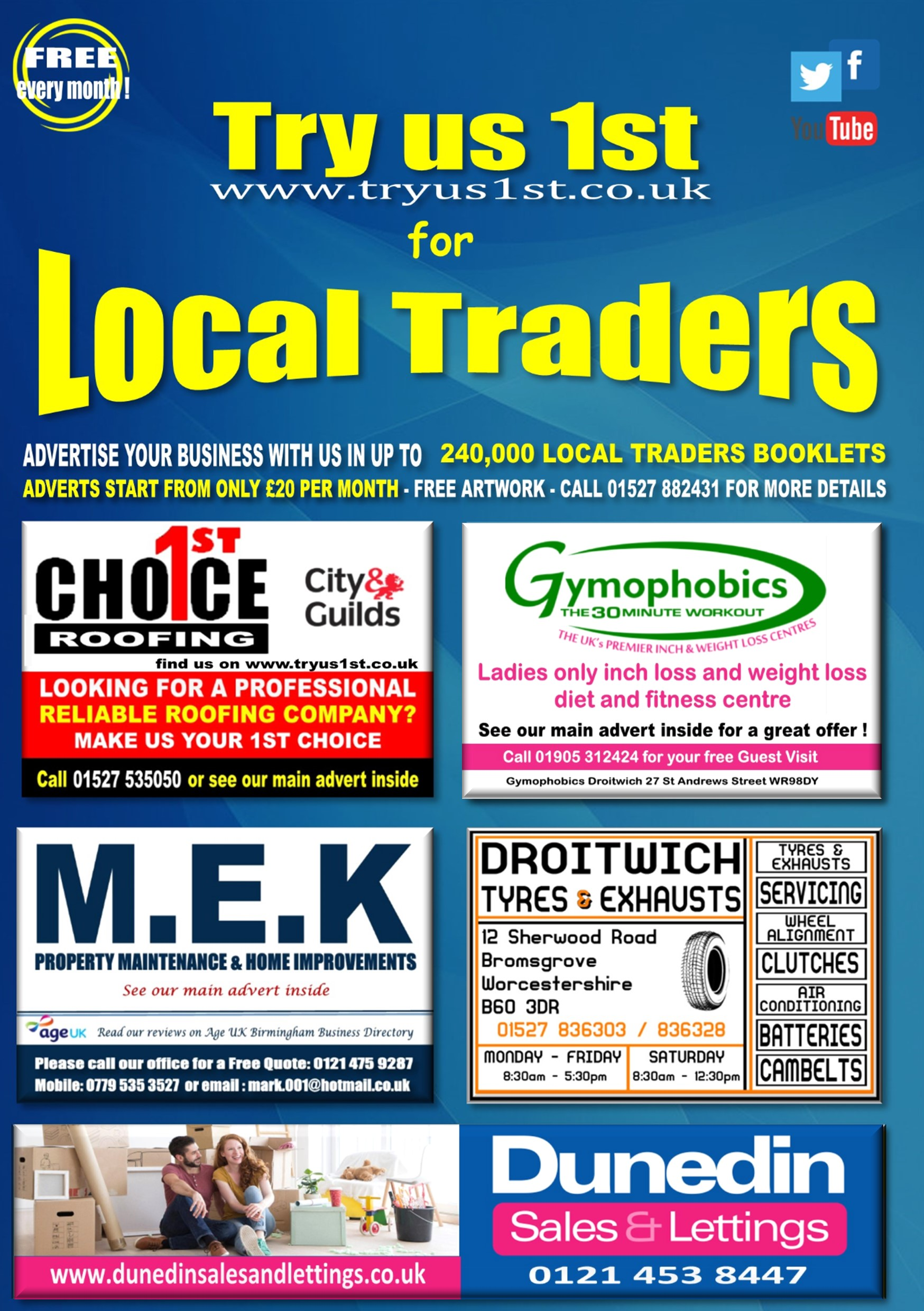 Try us 1st Local Traders online booklet