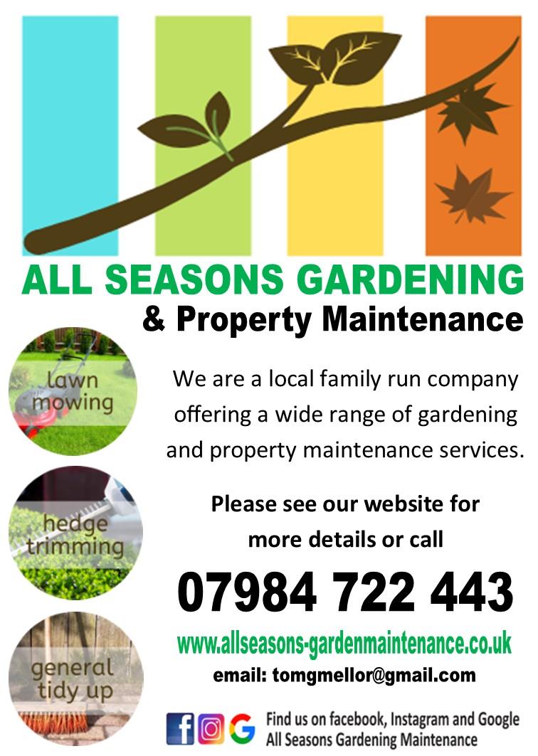 all seasons gardening and property maintenance